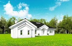 Projekt domu Rezydencja Parkowa 3 - 259,28 m2 - koszt budowy 361 tys. zł Home Fashion, Mansions, Case, House Styles, Home Decor, City, Decoration Home, Room Decor, Fancy Houses
