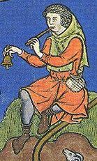 m.638 (Maciejowski Bible) Paris 1244-1254AD Fol 32r. David obtains Goliath's sword, bystander holding shepherds crook Fol 27r. The shepherd, David Fol. 25r. The shepherd, David