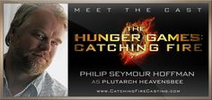 Please, welcome Philip Seymour Hoffman to the cast of The Hunger Games: Catching Fire!