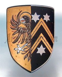 Coat of arms - eagle/star