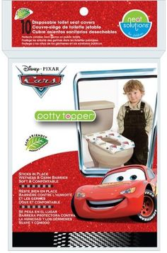 Neat Solutions 10 Count Disney Cars Potty Topper $4.99