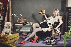 Lanvin Fall 2012 2013 Advertising Campaign