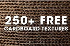 free cardboard textures