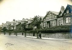 Blackness Avenue | Dundee City Archives | Flickr Dundee City, Great Britain, Old Photos, Scotland, Explore, Mansions, House Styles, Building, Childhood Memories