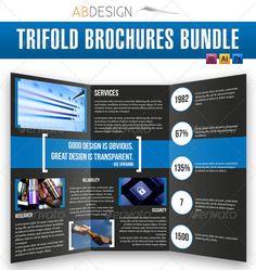 Creative Fold PhotoshopIndesign Brochure Templates - Indesign trifold brochure template