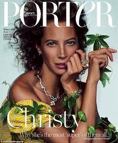 Porter Magazine F / W 2014 | Christy Turlington by Inez & Vinoodh