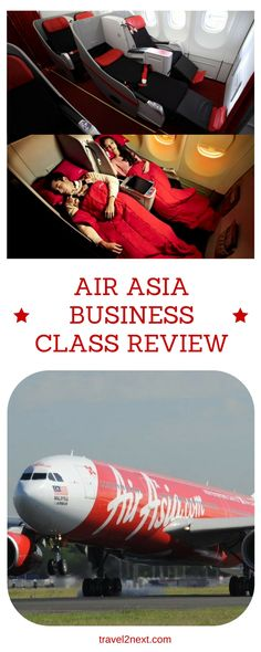 Air Asia Business Class review. Air Asia Business Class flight review of D7223 Sydney to Kuala Lumpur and connecting flight to Kolkata