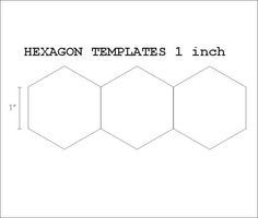 hexagon templates for quilting free - 1000 images about quilt hexagon how to quilt on