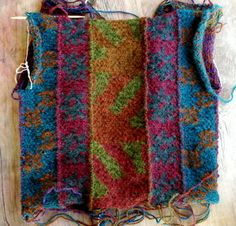 knitting, color knitting, Three Waters Farm yarn, Sweet Annie's Handspun pattern