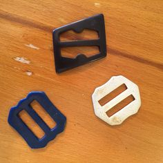 Vintage Plastic Belt Buckles Repurpose Craft Embellishments