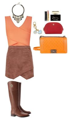 """""""Untitled #169"""" by lejla588 ❤ liked on Polyvore featuring BCBGMAXAZRIA, Tory Burch, Chanel and Dolce&Gabbana"""