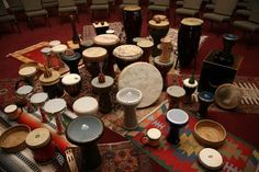 Drum circle in the making...