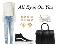 """""""All Eyes On You"""" by anaelle2 ❤ liked on Polyvore featuring Isabel Marant, Dsquared2, Givenchy, Vans, Yves Saint Laurent, Maison Margiela, Hermès, Aéropostale, women's clothing and women"""