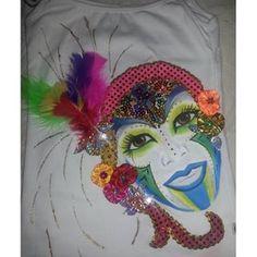 Más motivos de fantasía, blusa dama pintada a mano #carnaval #carnavaldelaarenosa #carnavaldebarranquilla2016 #quienloviveesquienlogoza #armatupintacarnavalera #carnavalsomostodos Afro Cuban, Halloween Face Makeup, Image, Instagram, Ideas, Costumes, Craft, Women, Amor