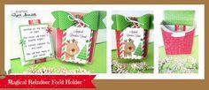 Doodlebug Design Inc Blog: Home for the Holidays: Reindeer Food, Gift Box + Door Hanger