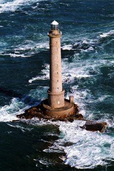Le phare de La Hague, Normandie, France