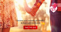 Are you a hopeless romantic? Or are you a more practical lover? Click here http://ilovelikethis.in/ to find out!