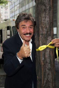 """TONY ORLANDO is now 66 years old…here he is today.. """"tying a yellow ribbon round the old oak tree."""