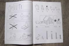 Christmas card Ikea manual style - IKEA Hackers
