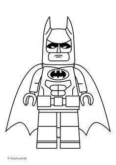 Batman Lego Colorear Con Imagenes Batman Para Colorear
