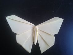 Origami butterfly - Easy to do. Paper butterfly - Wall decoration - decor - YouTube