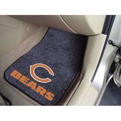 Chicago Bears NFL Car Floor Mats (2 Front)