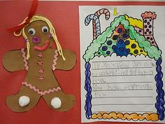 Babbling Abby: Gingerbread Unit Activities for First Grade-a fun unit to go along with the standards we are working on Gingerbread Man Activities, Christmas Activities, Gingerbread Men, Christmas Ideas, Winter Activities, Holiday Ideas, Winter Ideas, Christmas Holiday, Holiday Fun