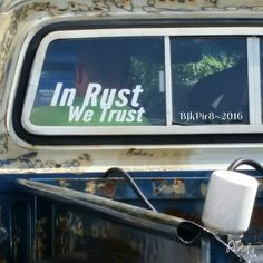 In Rust We Trust!