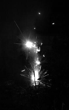 A spark in the dark by Rhi B, via Flickr