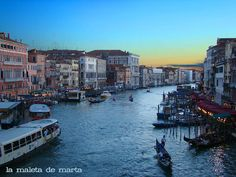 Gran Canal Venice....one of my favorite places in the world!