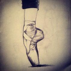 Umut Karaman - Illustration/ballet/en pointe
