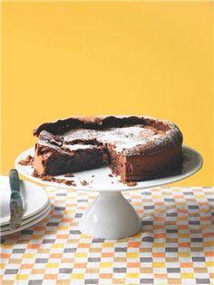 Glorious gluten-free teatime recipes: Chocolate and orange polenta cake