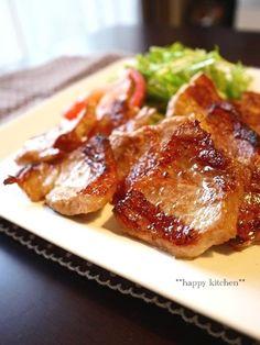 魚焼きグリルで焼くだけ、豚バラ肉のガーリックレモングリル by たっき ...