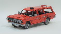 Lego Craft, Lego Moc, Lego Technic, Pontiac Gto, Soviet Union, Race Cars, Drag Race Cars, Rally Car