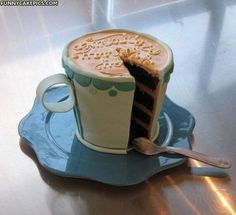 Amazing Coffee Cup Cake
