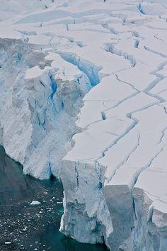 Glacier - Antarctica by Serge on Flickr