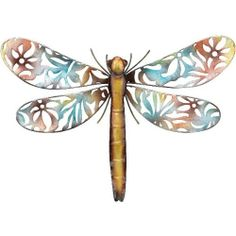 Wall Decor Silvery Lace Dragonfly Bronze 20x14 - Regal Art #A580 by Regal Art and Gift. $26.97. Mix And Match Items In Same Or Different Themes.. Use Of Richly Colored Automobile Paint Creates Quality, Durable Finish.. Extensive Handcrafting Is Put Into Each Piece.. Special Painting Techniques Creates A 'Patina' Effect.. This Wall Decor Silvery Lace Dragonfly Bronze 20x14 - Regal Art #A580 Is specially handcrafted in iridescent silver leaf that makes these beautiful bugs ra...