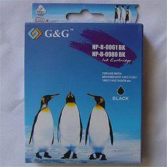 LC61BK BLACK Ink Cartridge For Brother MFC-J415W MFC-J220 MFC-585CW MFC-J410W
