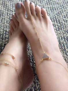 Dream Anklet, Lilac DRUZY Diamond Foot Chain, CZ Anklet, Gold Filled Druzy Boho Jewelry, Beach Shoes