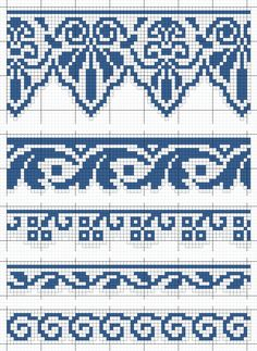 Cross Stitch Boarders, Cross Stitch Kits, Cross Stitching, Cross Stitch Embroidery, Filet Crochet, Swedish Weaving Patterns, Leather Embroidery, Tapestry Crochet Patterns, Cross Stitch Freebies