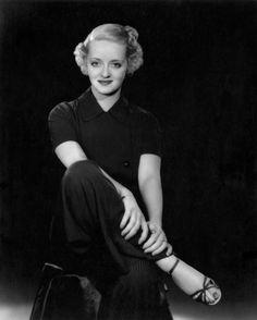 Bette Davis, 1930's.