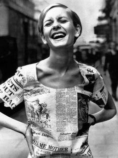 Twiggy, June, 1967