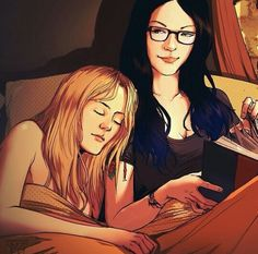 Vauseman fan art. That smirk though... #OITNB
