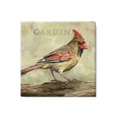 Bird Drawings, Animal Drawings, Tile Painting, Vintage Bird Illustration, Bird Canvas, Bird Paintings, Quirky Art, Cardinal Birds, Backyard Birds
