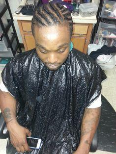 Cornrows by Tracy cuttin up barber / beauty salon hampton va