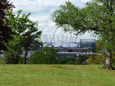 The arena from Greenwich Park. Not many people realise how close it is! Greenwich Park, People, Plants, Pictures, Photos, Photo Illustration, Plant, People Illustration, Resim