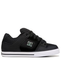 DC Shoes Men's Pure Skate Shoes (Black/Black/Bl)