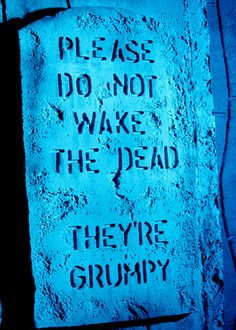 Do not wake up the dead halloween dead halloween pictures halloween images halloween ideas tombstone undead Halloween Tombstones, Halloween Graveyard, Halloween Signs, Halloween Projects, Holidays Halloween, Halloween Crafts, Happy Halloween, Halloween Party, Halloween Items