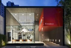 ACT _ Romegialli, Decoma Design - Edificio Cinex-Rimadesio, São Paulo, Brazil #offices #showroom