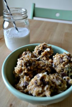 urban nester//: energy bites- taste like no bake cookies but are healthy